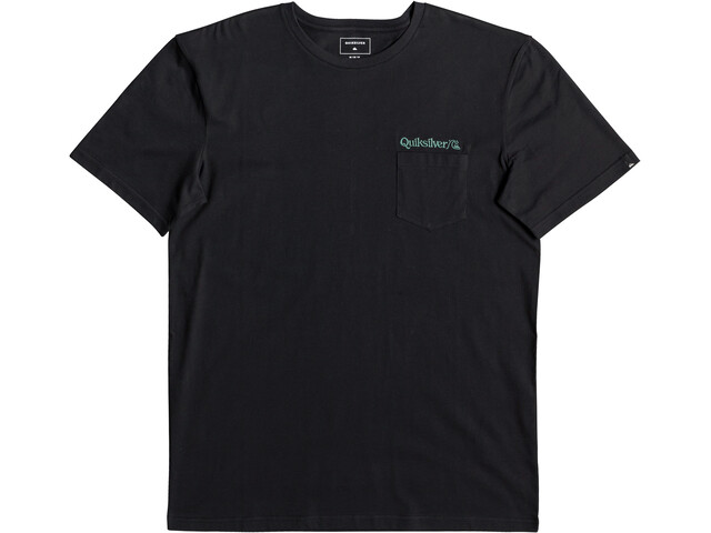 Quiksilver Art Tickle Pocket T-shirt Heren, black